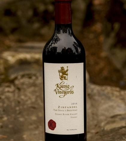 koenig vineyards devil bedstead zinfandel 2019GNI 420x470 - Koenig Vineyards 2016 The Devil's Bedstead Zinfandel, Snake River Valley, $30