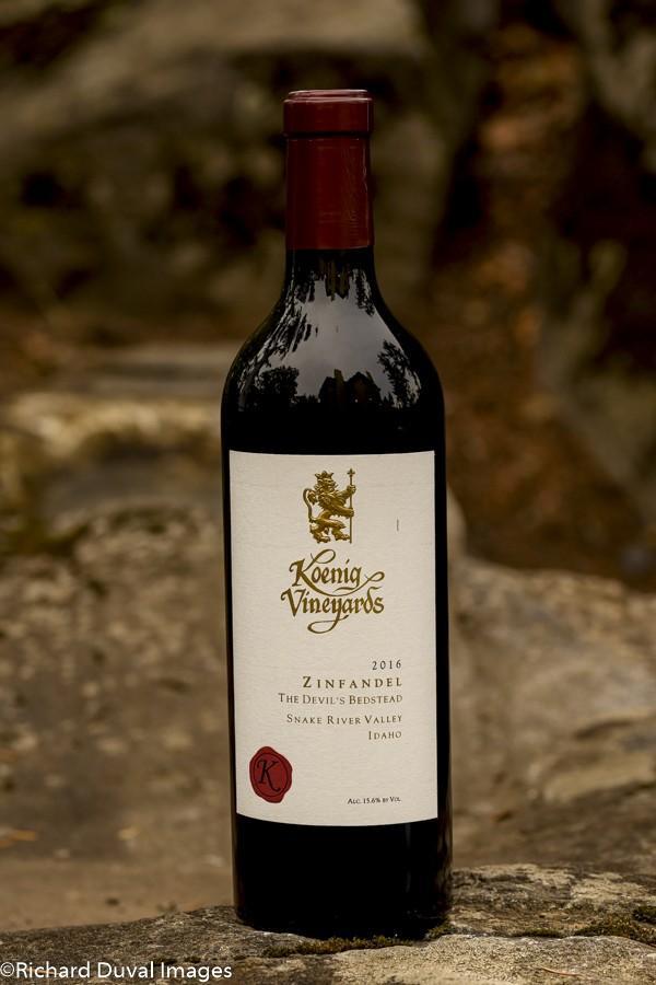 koenig vineyards devil bedstead zinfandel 2019GNI - Koenig Vineyards 2016 The Devil's Bedstead Zinfandel, Snake River Valley, $30