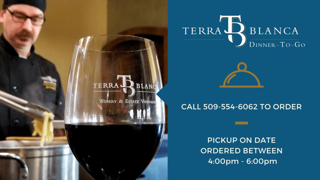 logo - Terra Blanca weekend menu for May 22-23