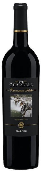 ste chapelle panoramic idaho malbec nv bottle - Ste. Chapelle 2016 Panoramic Idaho Malbec, Snake River Valley, $28