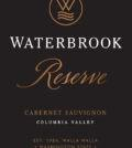 waterbrook winery reserve cabernet sauvignon nv label 120x134 - Waterbrook Winery 2015 Reserve Cabernet Sauvignon, Columbia Valley, $24