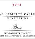 willamette valley vineyards brut 2016 label 120x134 - Willamette Valley Vineyards 2016 Brut, Willamette Valley, $55
