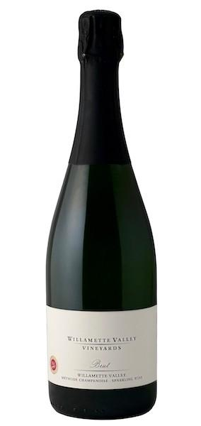 willamette valley vineyards brut nv bottle - Willamette Valley Vineyards 2016 Brut, Willamette Valley, $55