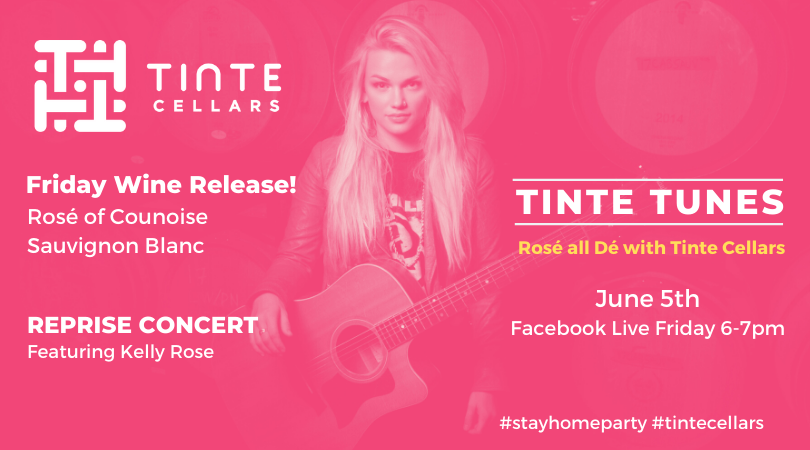 TINTE TUNES takeover the Kelly Rose June 5 v2 HqtXVO.tmp  - Tinte Tunes – Rosé all Dé Edition f/t Kellie Rose Reprise Concert