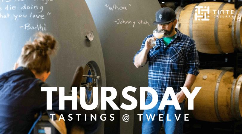Thursday Tastings FB event cover1 L10oEk.tmp  - Thursday Tastings at Twelve – Virtual Tinte Cellars Wine Tasting