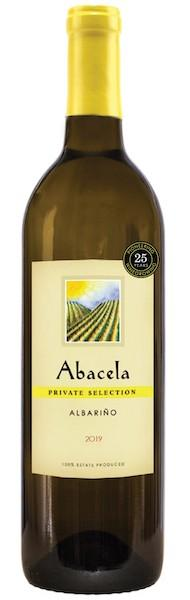 abacela estate private selection albarino 2019 bottle - Abacela 2019 Estate Private Selection Albariño, Umpqua Valley, $26