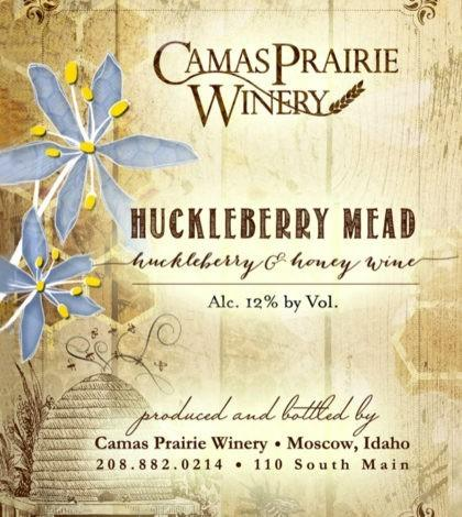 camas prairie winery huckleberry mead nv label 420x470 - Camas Prairie Winery 2018 Huckleberry Mead, Idaho, $15