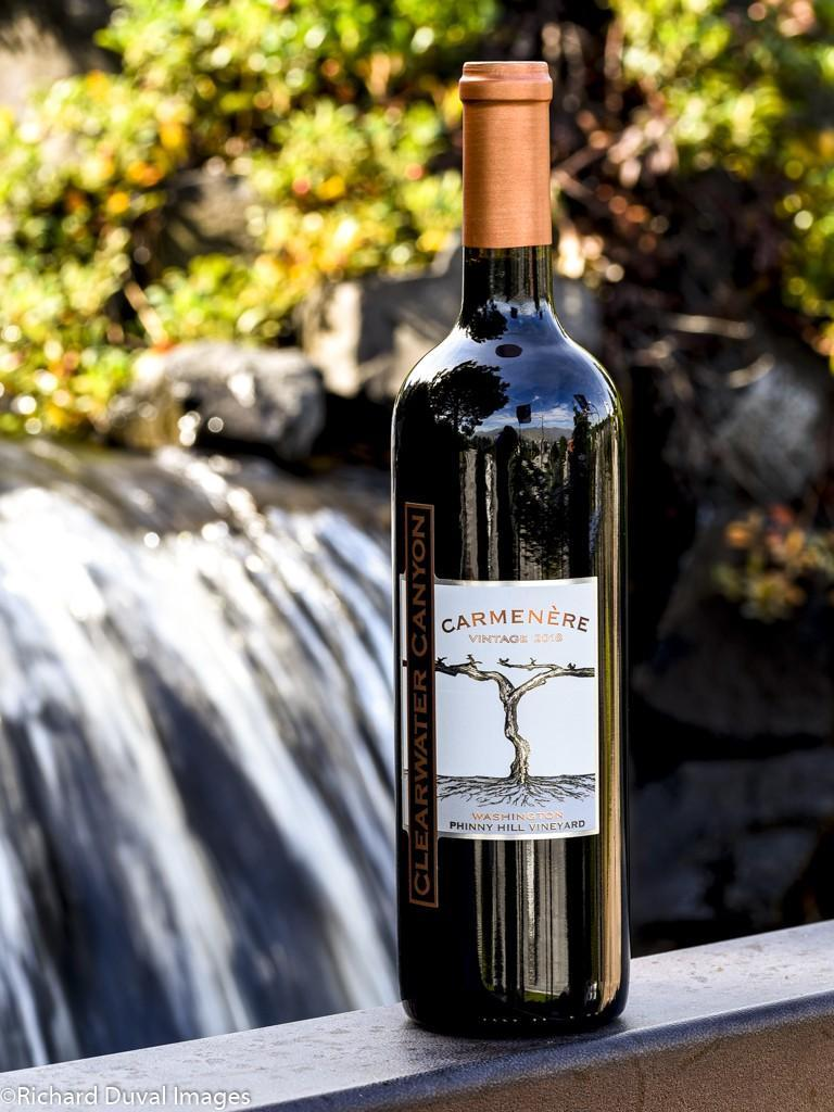 clearwater canyon cellars phinny hill vineyard carmenere 2018 bottle - Wild Goose Vineyards in British Columbia tops Cascadia wine judging again