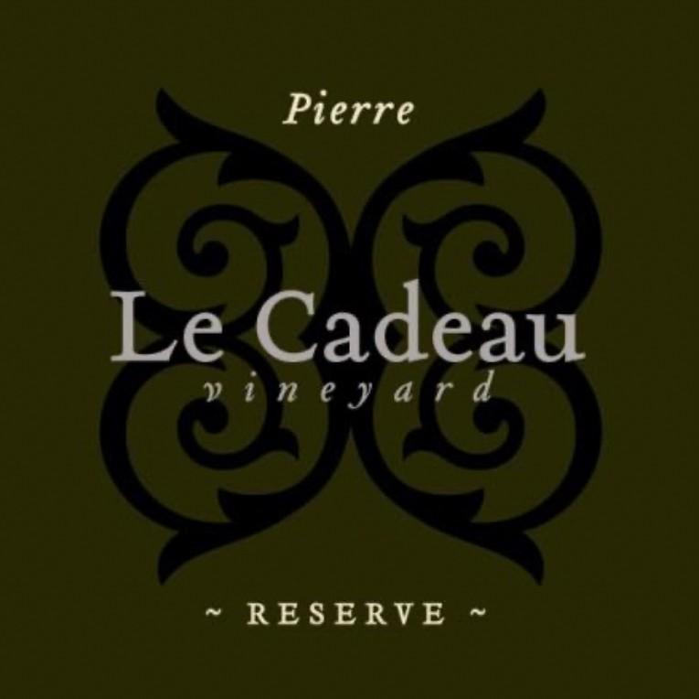 le cadeau pierre reserve pinot noir nv label - Le Cadeau Vineyard 2017 Pierre Reserve Pinot Noir, Chehalem Mountains, $80