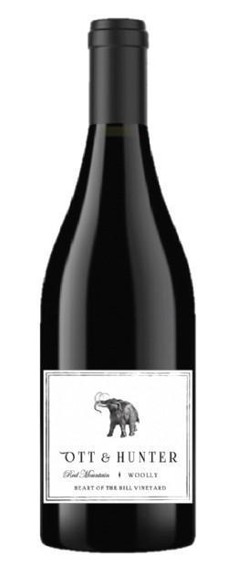 ott hunter heart of the hill vineyard woolly nv bottle - Ott & Hunter Wines 2016 Heart of the Hill Vineyard Woolly Petite Sirah, Red Mountain $43