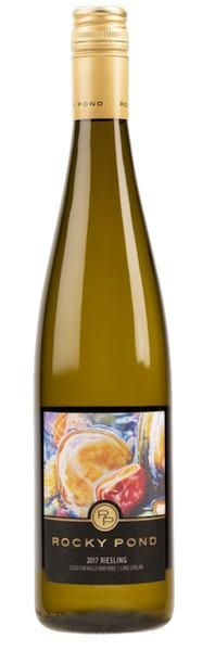 rocky pond winery clos che valle vineyard riesling 2017 bottle 1 - Rocky Pond Winery 2017 Clos CheValle Vineyard Riesling, Lake Chelan, $20