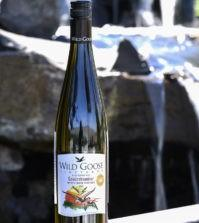 wild goose vineyards mystic river vineyard gewurztraminer 2019 bottle 199x223 - Wild Goose Vineyards in British Columbia tops Cascadia wine judging again