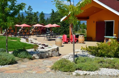 SpearheadPatio2 1 PW0mLQ.tmp  - First EVER event at Spearhead Winery Yoga, Wine & Chocolate!!