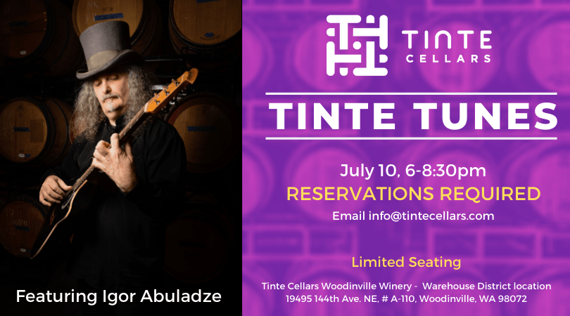 TINTE TUNES Igor A July 10 JLoKgp.tmp  - Tinte Tunes with Igor Abuladze Friday at 6pm