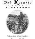 del rosario family vineyards estate winery label 120x134 - Del Rosario Family Vineyards Estate Winery 2016 Primitivo, Columbia Valley, $36