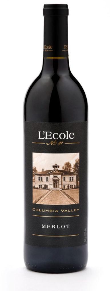 lecole no 41 merlot columbia valley nv bottle 386x1024 - L'Ecole No. 41 2017 Merlot, Columbia Valley, $24