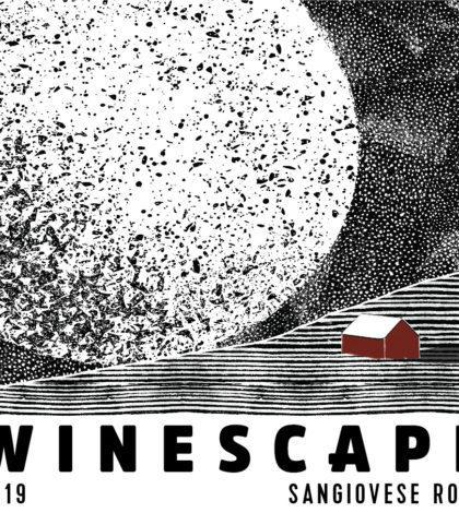 winescape winery sangiovese rose 2019 label 420x470 - Winescape 2019 Sangiovese Rosé, Red Mountain, $22