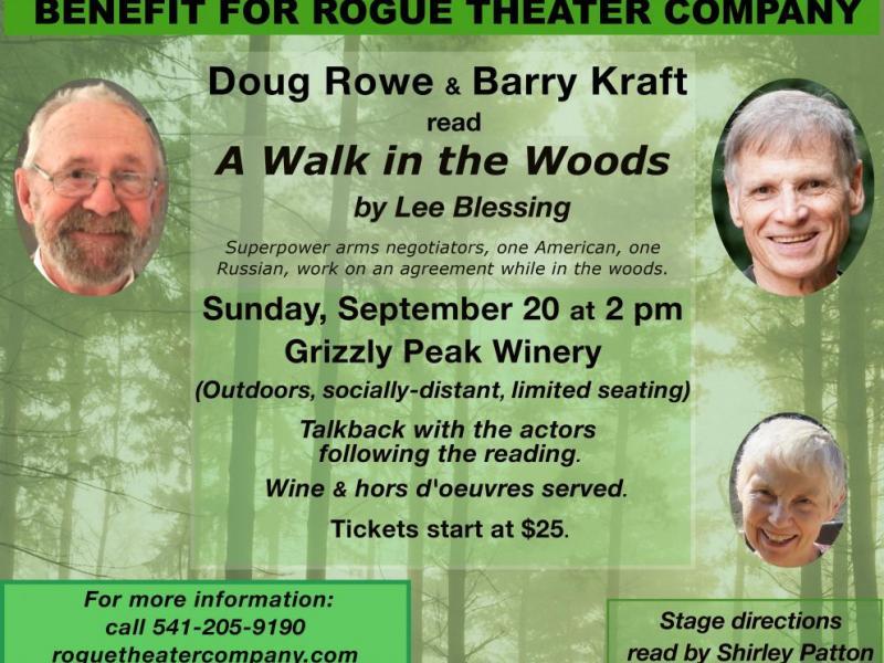 A Walk in the Woods - 'A Walk in the Woods' at Grizzly Peak Winery