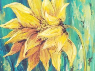 """Sip Paint - Sip and Paint """"Summer Sunflower"""" at Ambassador Winery"""