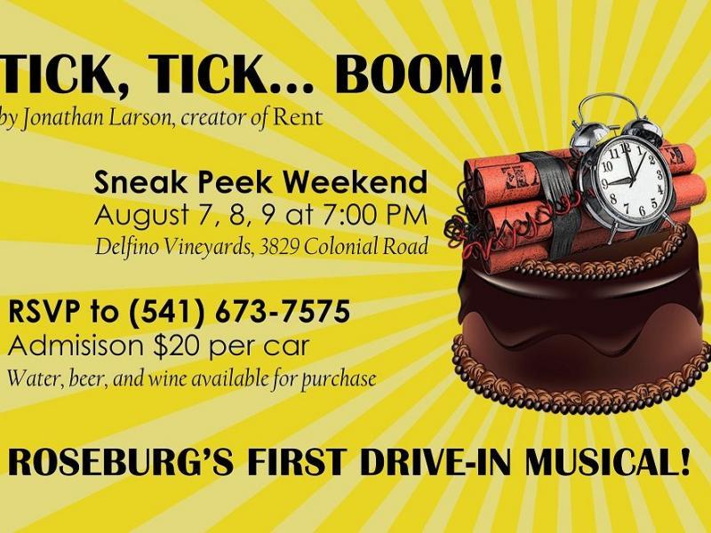Tick - 'Tick, Tick, BOOM!' Sneak Peek Weekend at Delfino Vineyards