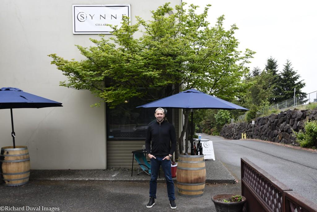 synne cellars storefront issac schmid richard duval images - VineLines Dispatch updates moves in Woodinville Wine Country