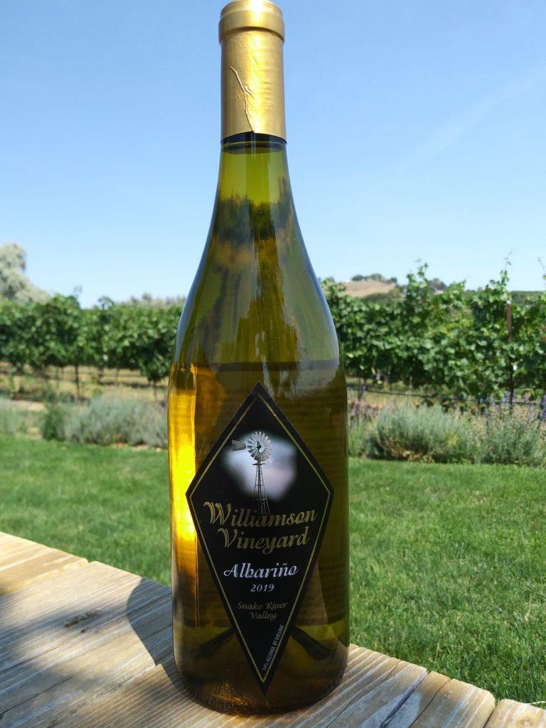 williamson vineyards 2019 albarino 768x1024 - Williamson Vineyards young Albariño rises to top of 2020 Idaho Wine Competition