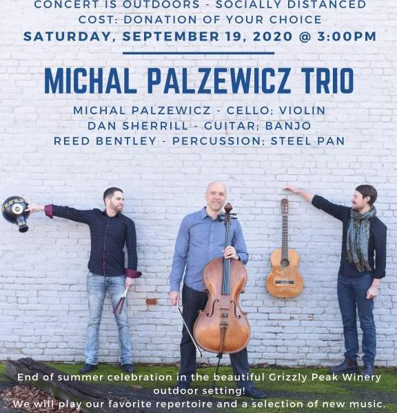 Michal Palzewicz Trio - Michal Palzewicz Trio performs at Grizzly Peak Winery