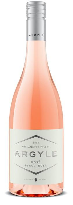 argyle winery grower series rose pinot noir 2019 bottle - Argyle Winery 2019 Grower Series Rosé Pinot Noir, Willamette Valley, $20