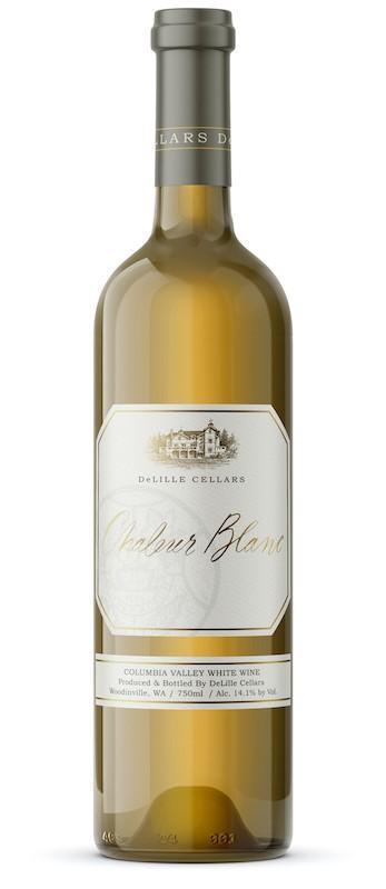 deLille cellars chaleur blanc nv bottle - DeLille Cellars 2019 Chaleur Blanc, Columbia Valley, $35