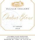delille cellars chaleur blanc 2019 label 120x134 - DeLille Cellars 2019 Chaleur Blanc, Columbia Valley, $35