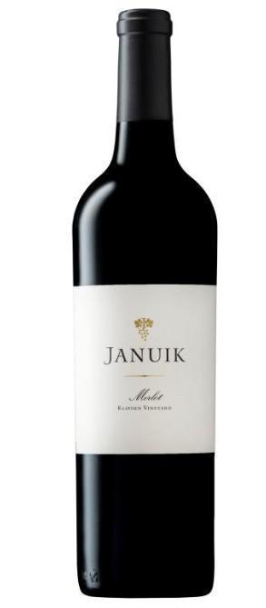 januik winery klipsun vineyard merlot nv bottle 1 - Januik Winery 2017 Klipsun Vineyard Merlot, Red Mountain, $35