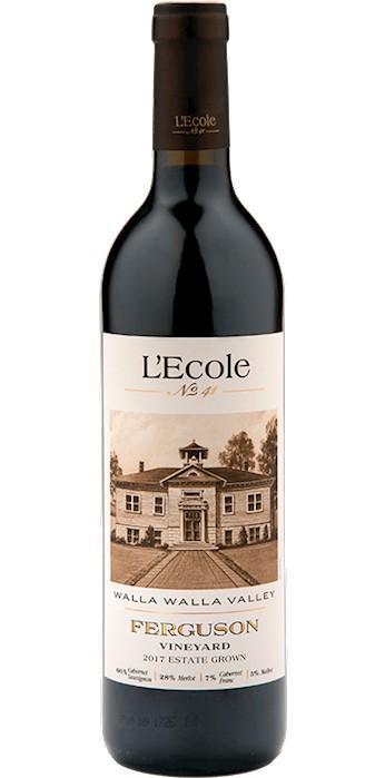lecole no 41 winery ferguson vineyard estate red wine 2017 bottle - L'Ecole Nº 41 Winery 2017 Ferguson Vineyard Estate Red Wine, Walla Walla Valley, $64