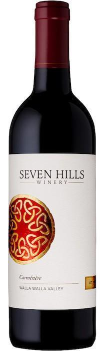 seven hills winery carmenere nv bottle - Seven Hills Winery 2018 Carménère, Walla Walla Valley, $40