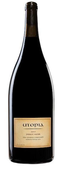 utopia wines the utopia vineyard pinot noir 2017 bottle - Utopia Wines 2017 The Utopia Vineyard Pinot Noir, Ribbon Ridge, $48