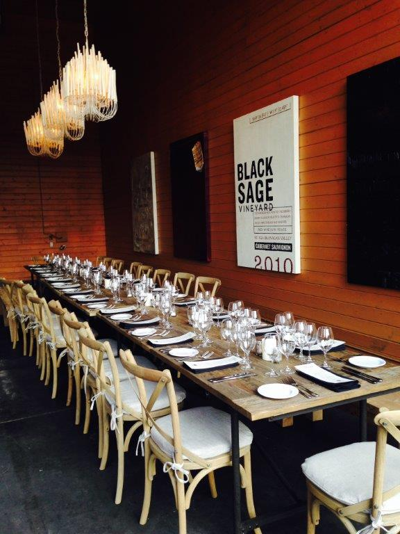 Black Sage Hall ready for guests I2guXW.tmp  - Black Sage Hall Monthly Dinner Series
