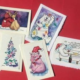 Christmas cards JpNTSY.tmp  - Watercolour Workshop (Christmas Cards) – November 29th 2020