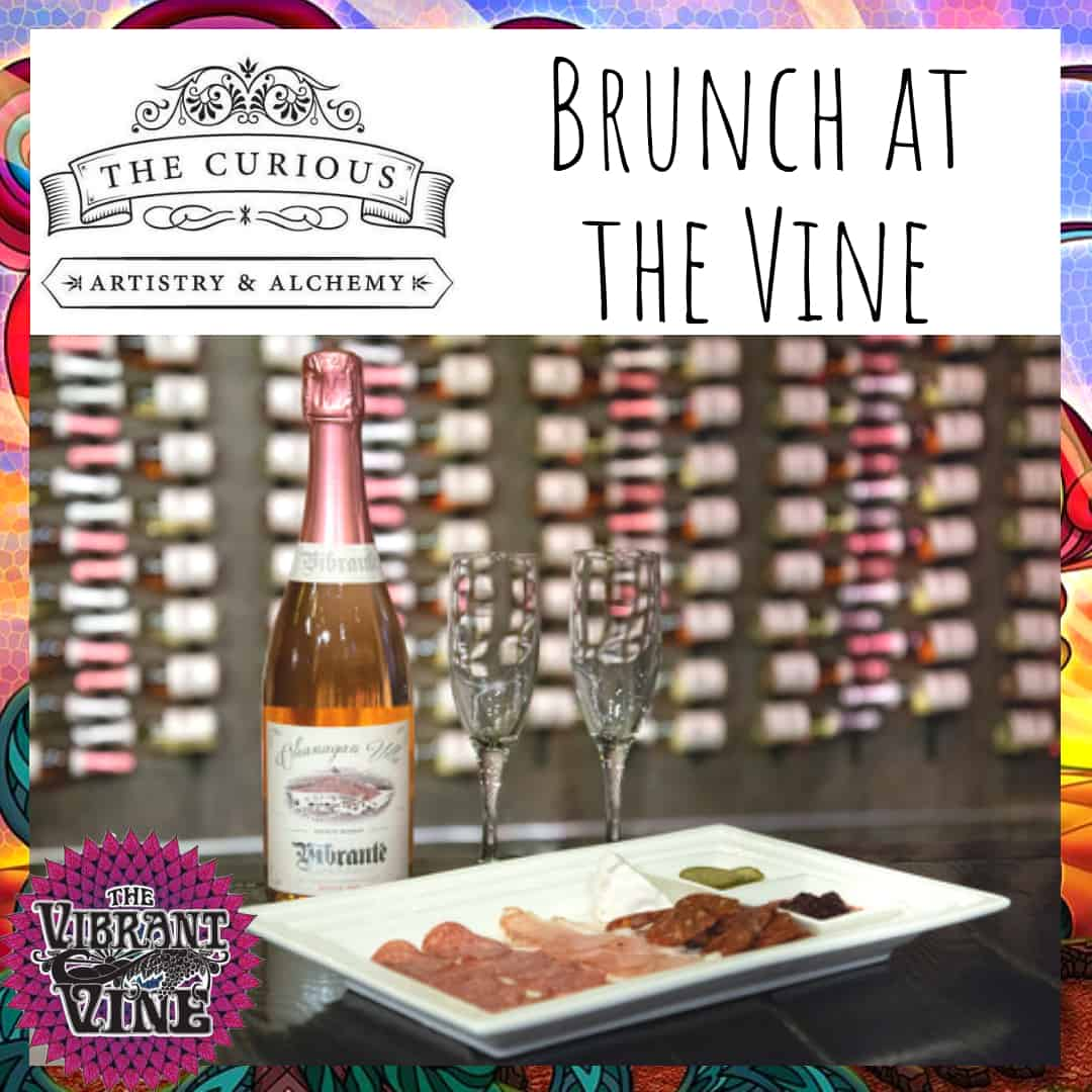 CuriousBrunchattheVine 2 QRAd6p.tmp  - Curious Brunch at The Vine