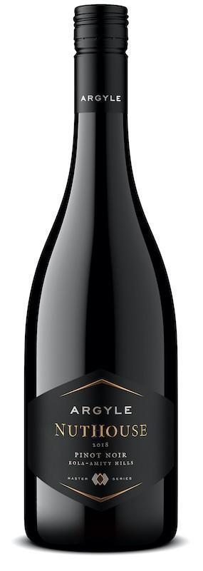 argyle winery master series nuthouse pinot noir 2018 bottle - Argyle Winery 2018 Master Series Nuthouse Pinot Noir, Eola-Amity Hills, $55