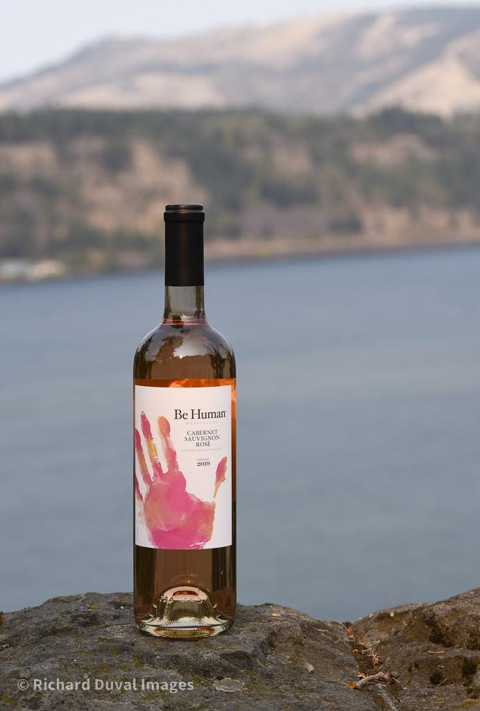 be human wines cabernet sauvignon rose 2019 bottle invite - Be Human Wines 2019 Cabernet Sauvignon Rosé, Horse Heaven Hills $18