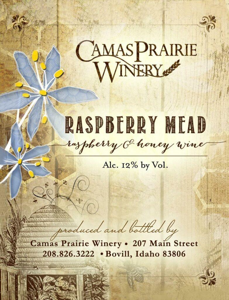 camas-prairie-winery-raspberry-mead-nv-label