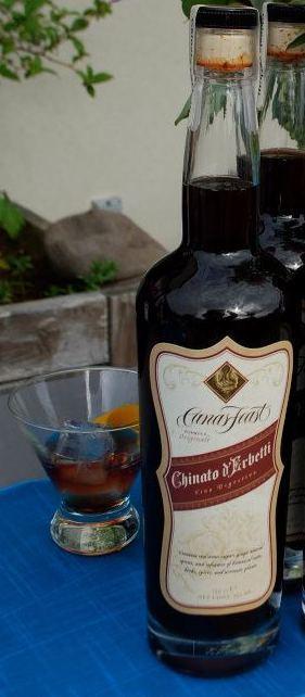 cana s feast winery chinato d erbetti nv bottle - Cana's Feast Winery NV Chinato d'Erbetti Vino Digestivo, American $45
