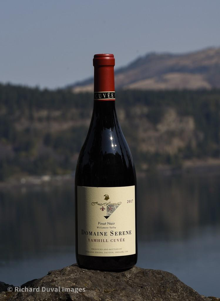 domaine serene yamhill cuvee pinot noir 2017 bottle invite - Domaine Serene 2017 Yamhill Cuvée Pinot Noir, Willamette Valley $52