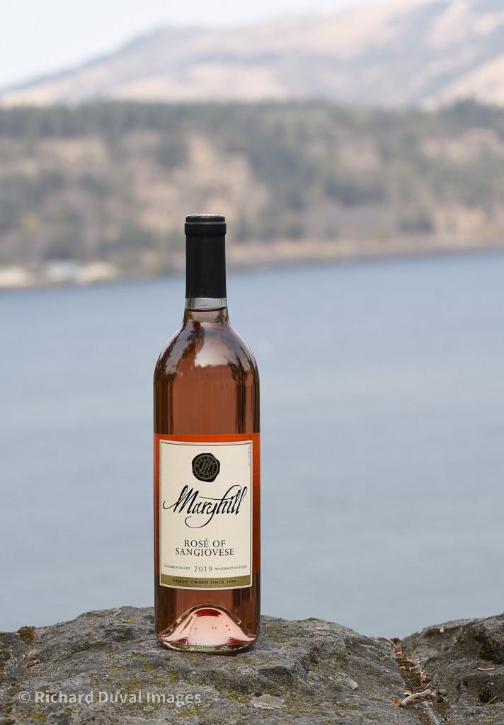 maryhill winery rose sangiovese 2019 bottle invite - Maryhill Winery 2019 Rosé of Sangiovese, Columbia Valley, $17
