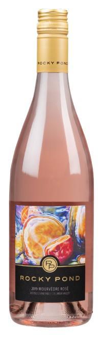 rocky pond estate winery double d vineyard mourvedre rose 2019 bottle - Rocky Pond Winery 2019 Double D Vineyard Mourvèdre Rosé, Columbia Valley, $24