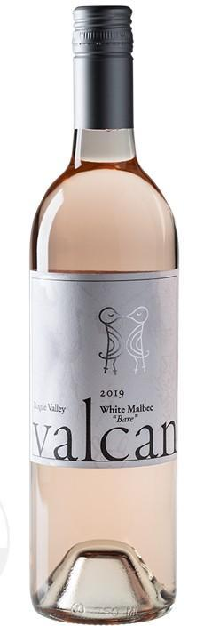 "valcan cellars bare white malbec 2019 bottle - Valcan Cellars 2019 ""Bare"" White Malbec, Rogue Valley, $22"