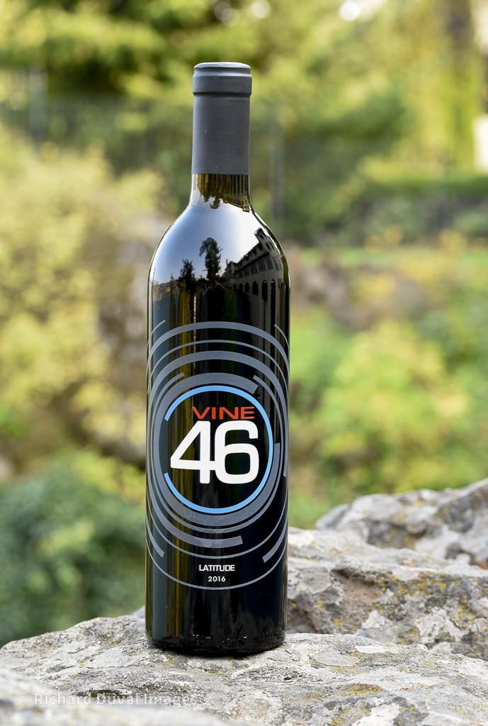 vine 46 latitude red wine 2016 bottle invite - Armstrong Family Winery turns Discovery Vineyard Syrah into best wine at Great Northwest Invitational