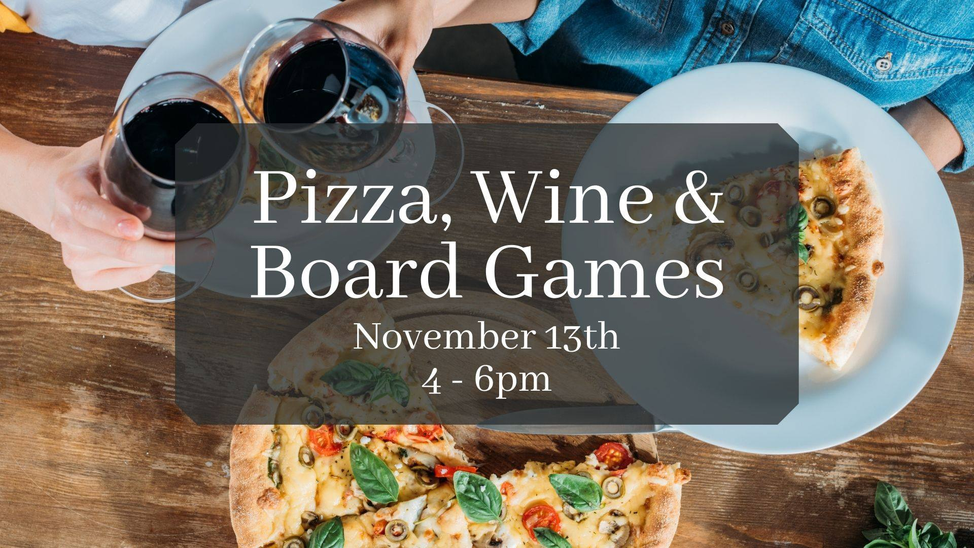 124603649 1184036321997165 4712740577605242558 o - Pizza, Wine and Board Games at The Great Oregon Wine Co. and Distillery
