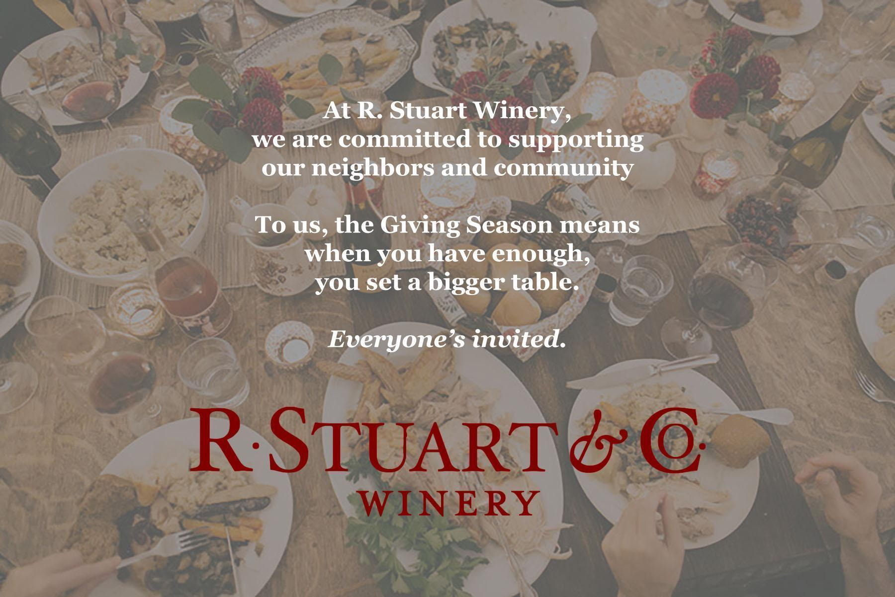 GivingSeason3 q92O37.tmp  - R. Stuart Winery Harvest Open House