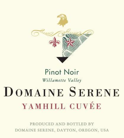 domaine serene yamhill cuvee pinot noir nv label 420x470 - Domaine Serene 2017 Yamhill Cuvée Pinot Noir, Willamette Valley $52