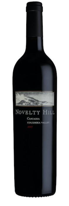 novelty hill wines cascadia 2017 bottle - Novelty Hill 2017 Cascadia Red Wine, Columbia Valley, $55